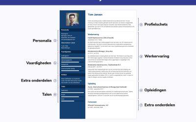 In welke volgorde zet je Werkervaring op je CV?