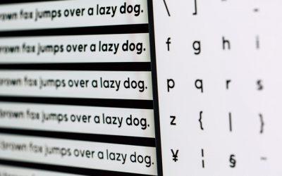 Welk lettertype is het beste voor op CV?